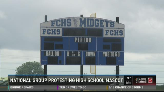 National group protesting high school mascot