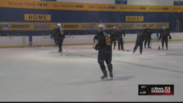 Chaminade grad gets chance to impress Blues