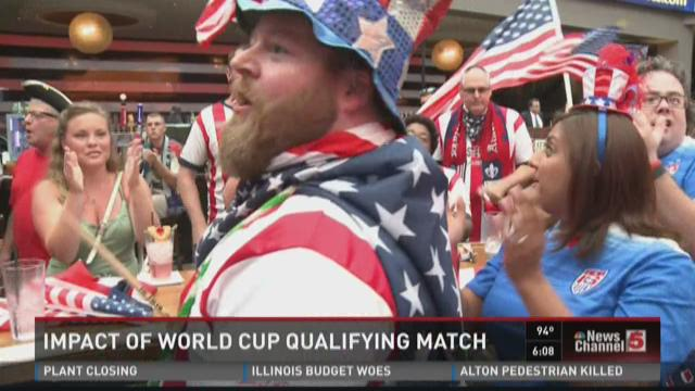 Impact of World Cup Qualifying match
