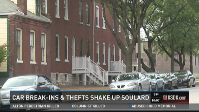 Car break-ins and thefts shake up Soulard
