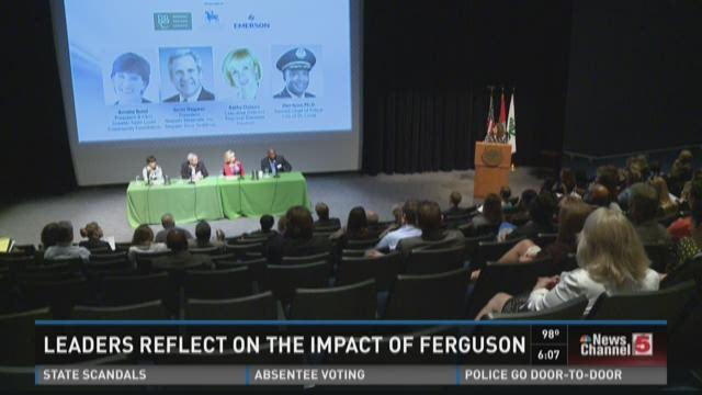 Leaders reflect on impact of Ferguson unrest