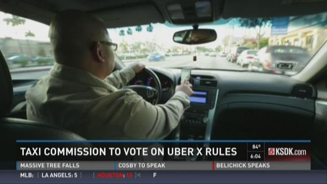 Taxi Commission to vote on UberX rules