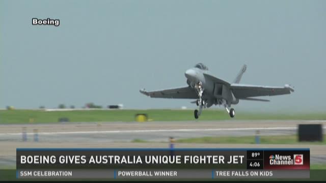Boeing gives Australia unique fighter jet