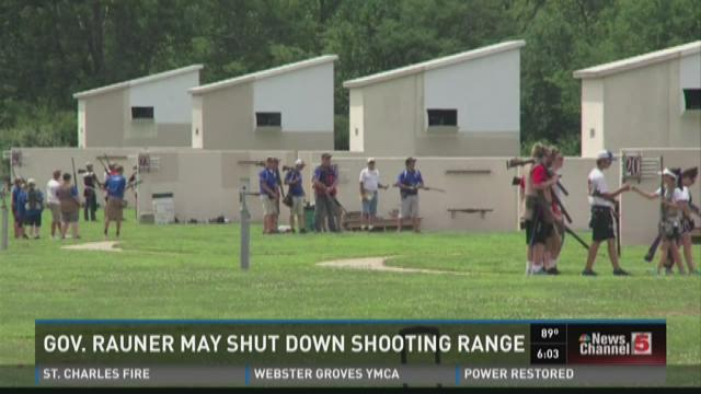 Gov. Rauner may shut down shooting range