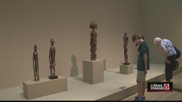 Senufo art exhibit