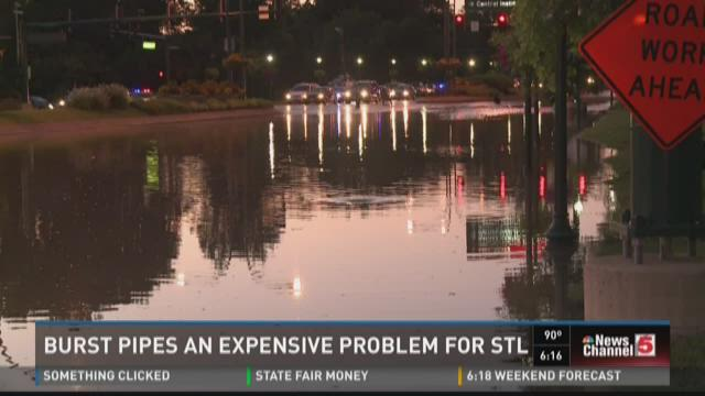 Burst pipes an expensive problem for STL