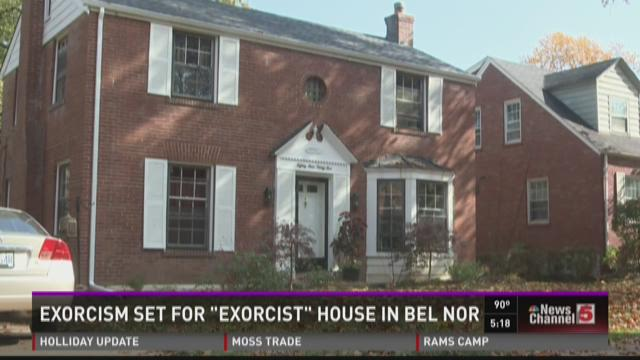 """Exorcism set for """"Exorcist"""" house"""