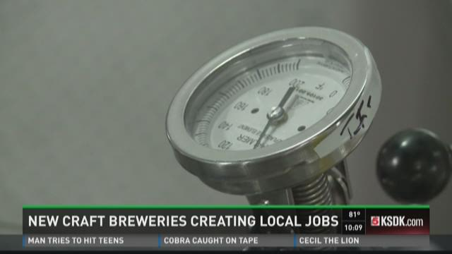 New craft breweries creating local jobs