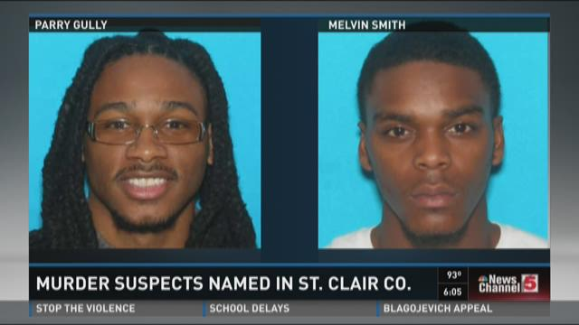 Murder suspects named in St. Clair County