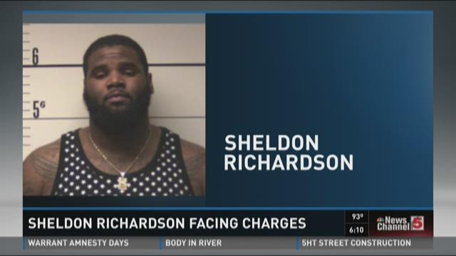 Sheldon Richardson facing charges