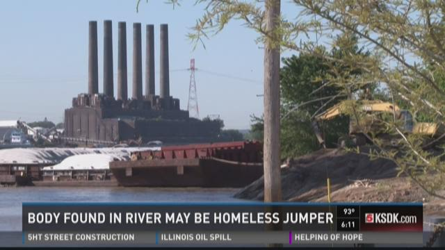 Body found in river may be homeless jumper