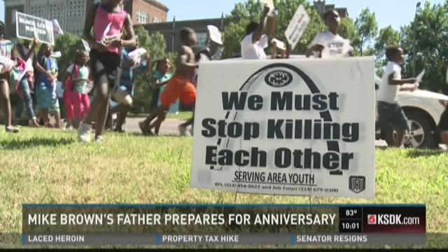 Mike Brown Sr. prepares for anniversary