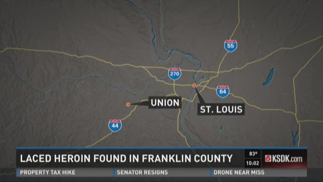 Laced heroin found in Franklin County