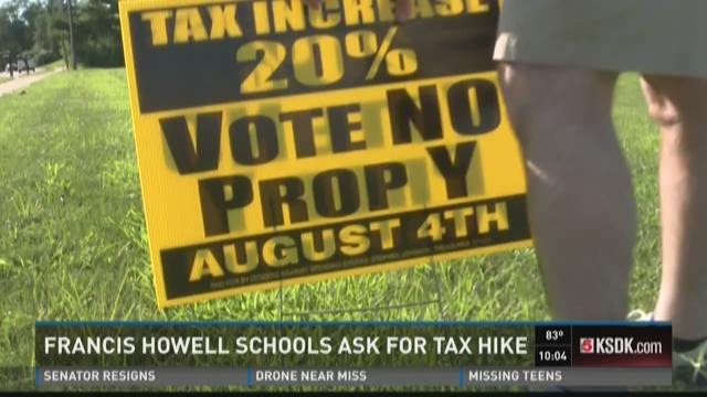 Francis Howell school ask for tax hike