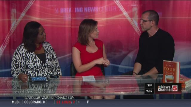 Ben Newman, a best-selling author, speaker, and performance coach, joined Bree and Kelly on 'Today in St. Louis' Saturday.