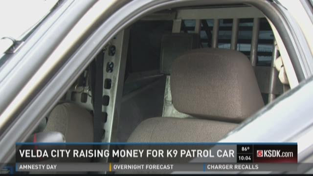 Velda City raising money for K-9 patrol car