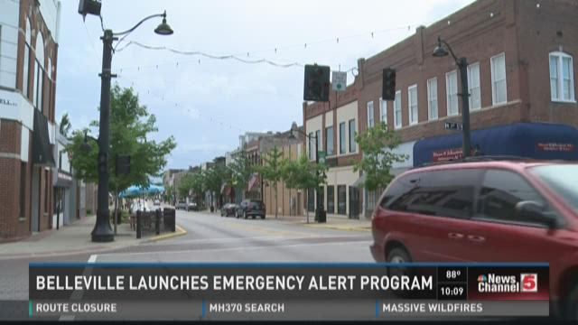 Belleville launches emergency alert program