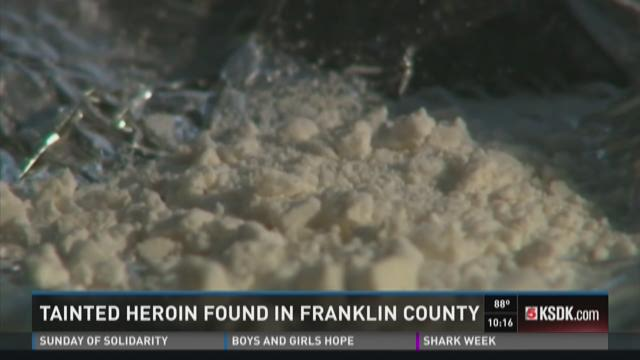 Tainted heroin found in Franklin County