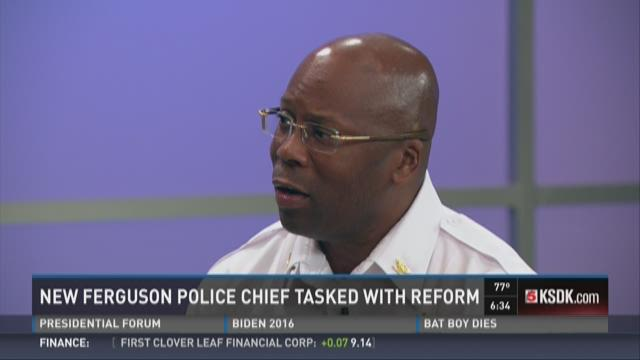 New Ferguson police chief tasked with reform