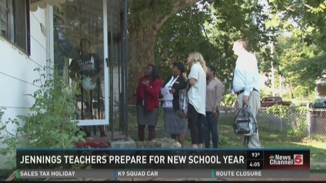 Jennings teachers prepare for new school year