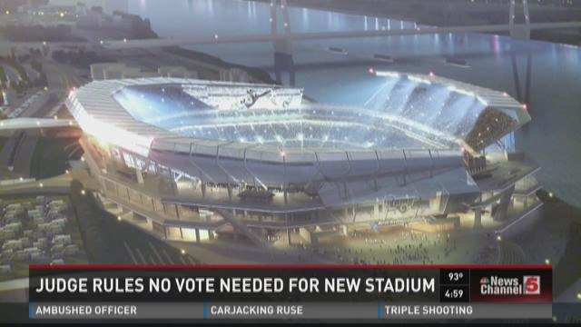Judge rules no vote needed for new stadium