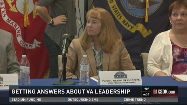 Getting answers about VA leadership