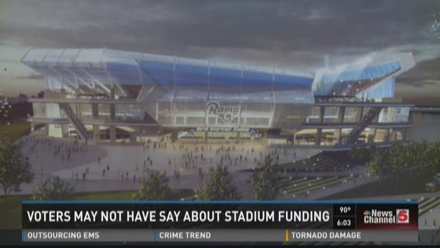 Voters may not have say about stadium funding