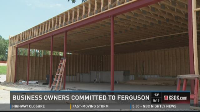 Ferguson business owners committed to Ferguson