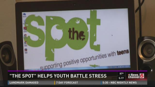 """The Spot"" helps youth battle stress"