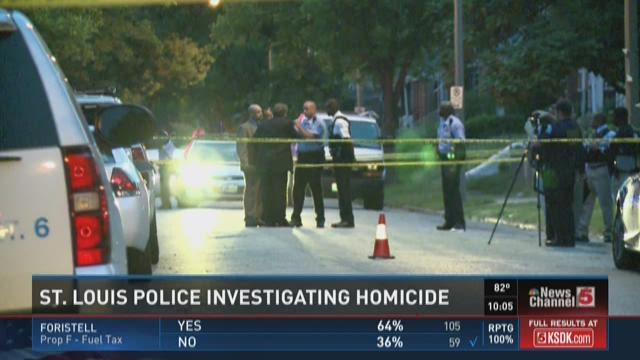St. Louis Police investigating homicide