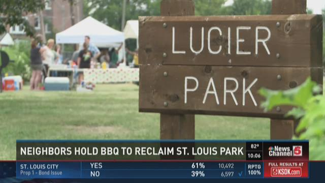 Neighbors hold BBQ to reclaim St. Louis Park