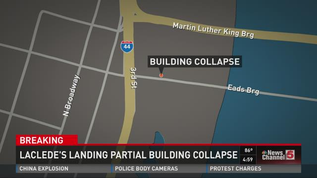 Building Partially Collapses
