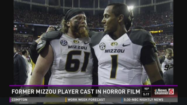 Former Mizzou player cast in horror film