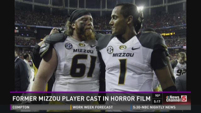 Former Mizzou player cast in horror film