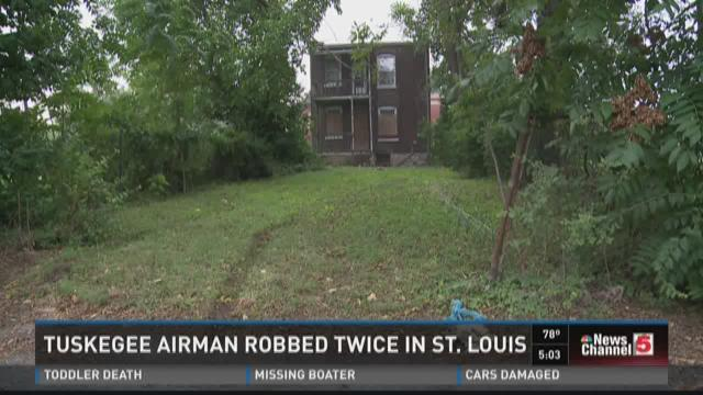 Tuskegee Airman robbed twice in St.Louis