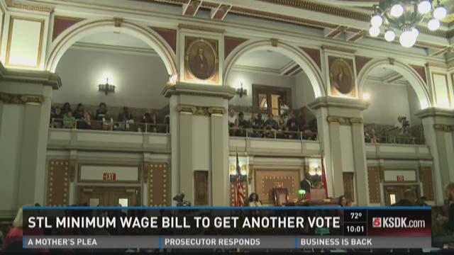 STL Minimum wage bill to get another vote