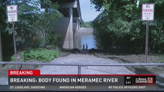 Body found in Meramec River
