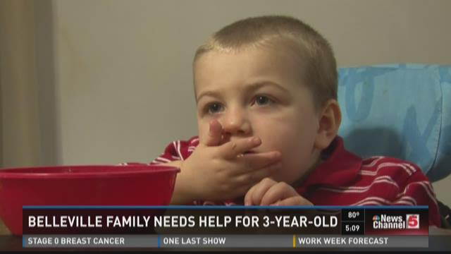 Belleville family needs help for 3-year-old
