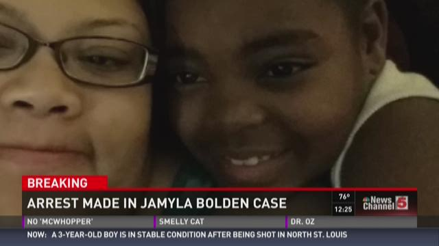 Arrest made in Jamyla Bolden case