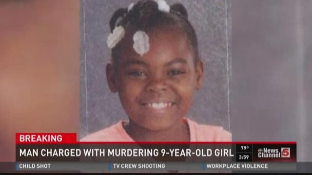 Man charged with murdering 9-year-old girl