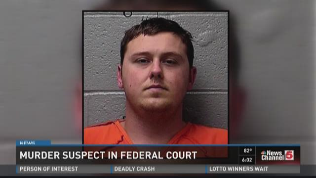 Murder suspect in Federal Court