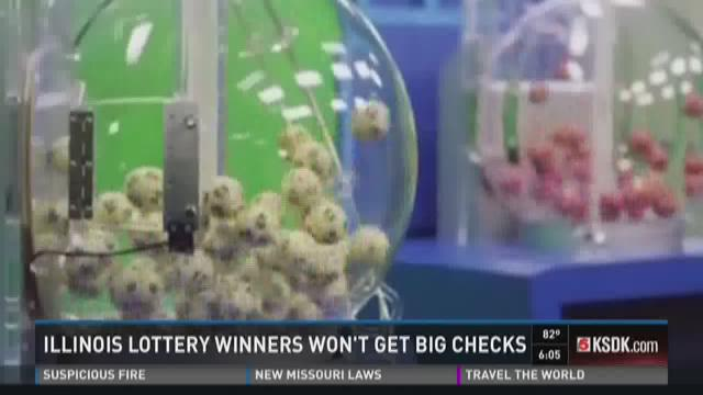 Illinois lottery winners won't get big checks