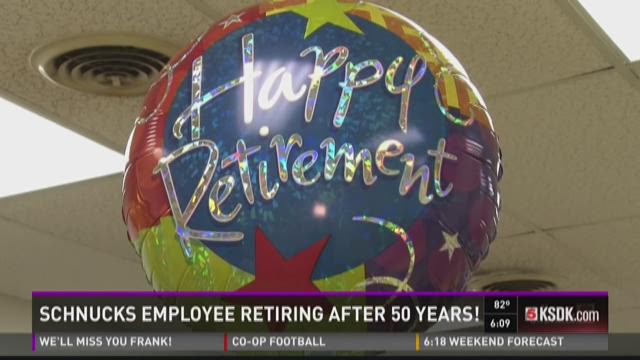 Schnucks employee retiring after 50 years