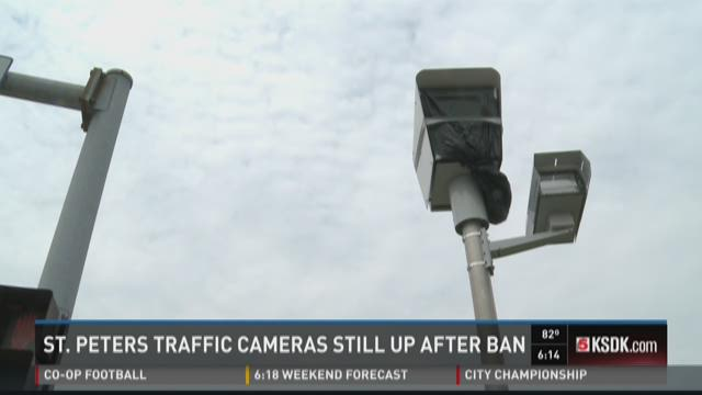 St. Peters traffic cameras still up after ban