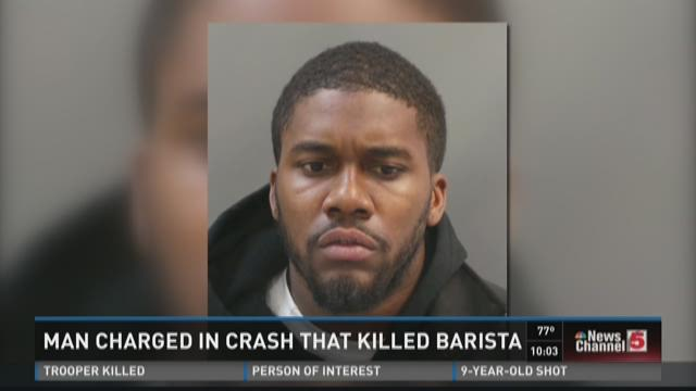 Man charged in crash that killed barista