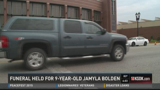 Funeral held for 9-year-old Jamyla Bolden