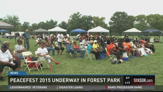 Peacefest 2015 Underway in Forest Park