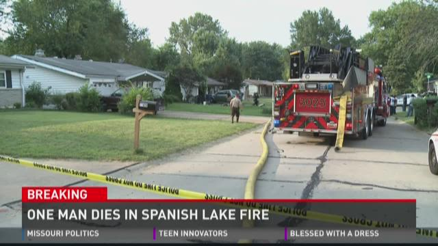 One man dies in Spanish Lake Fire