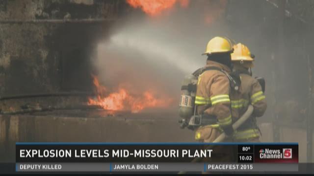 Explosion levels Mid-Missoui Plant