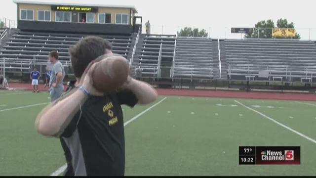 Farmington football manager loves his football